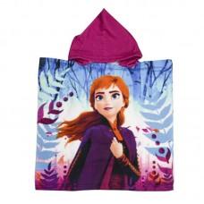 Пончо для дівчинки Frozen 55*110