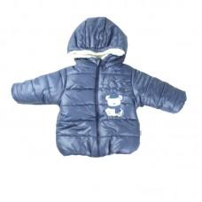 Стильна куртка синього кольору - демисезон