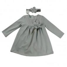 Ніжне плаття з повязкою Monna Rosa